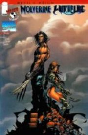 Devil's Reign #5 Wolverine Witchblade Michael Turner Blue Foil Variant Top Cow comic book
